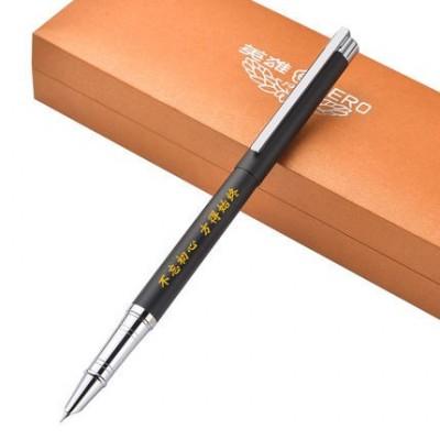 英雄雅致特细0.38mm钢笔